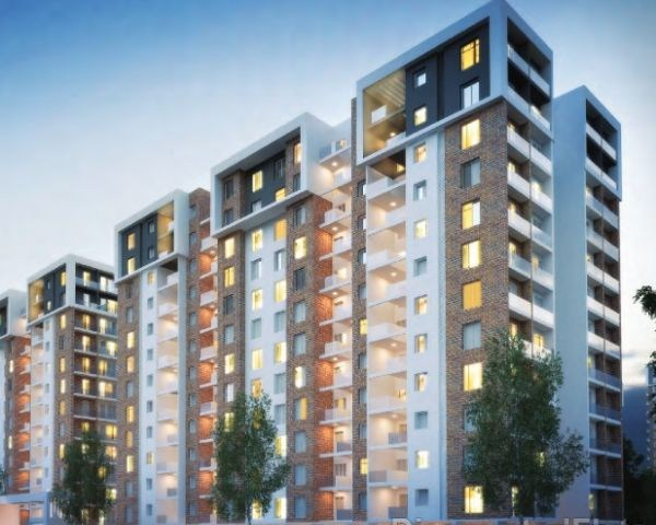 Fast paced property development and new residential towers