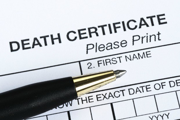 why it is necessary to obtain a death certificate